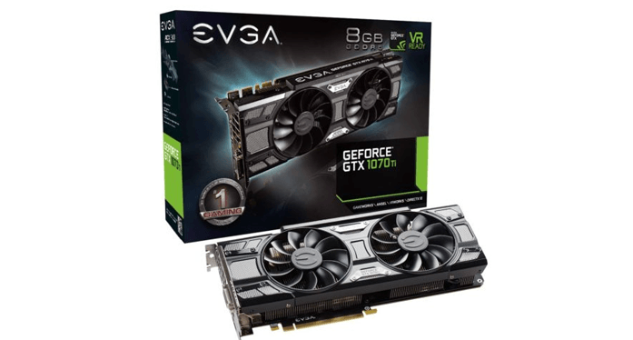 Best QHD Graphics Card - Nvidia GeForce GTX 1070 Ti