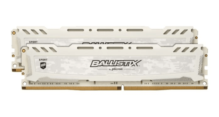 Crucial Ballistix LT Sport White 2 x 8GB