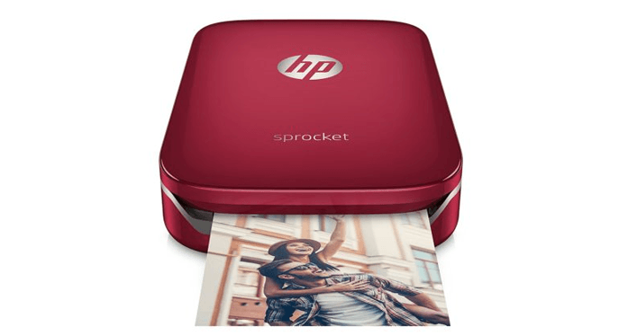 HP Sprocket Photo Printer- best Photo Printers 2019