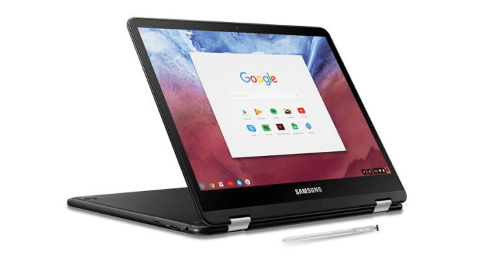 Samsung Chromebook Pro - The best Cheap Laptops in 2019