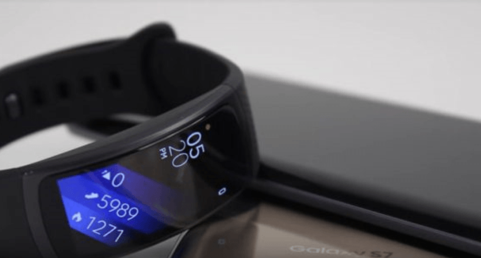 Samsung Gear Fit 2 - the best mid-range