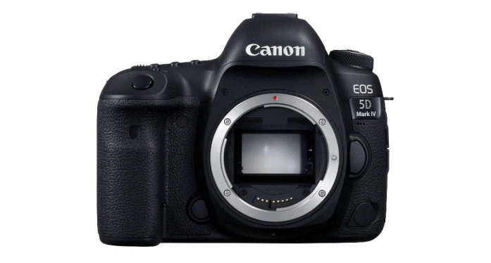 Canon EOS 5D Mark IV - best cameras for professionals