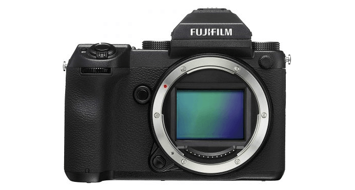 Fujifilm GFX 50S - best cameras for professionals