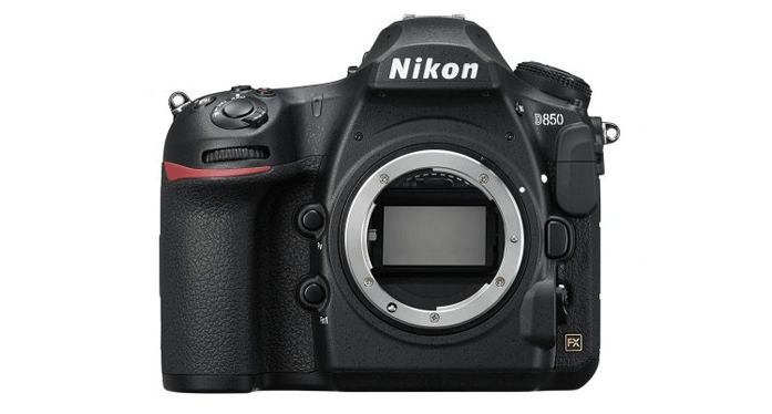 Nikon D850 - best cameras for professionals in 2019