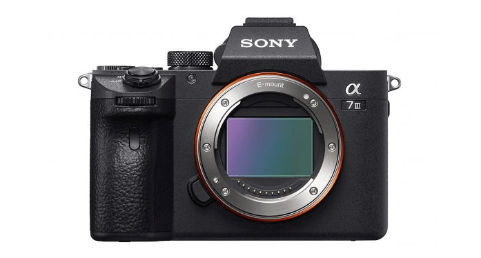 Sony A7R III - best cameras for professionals