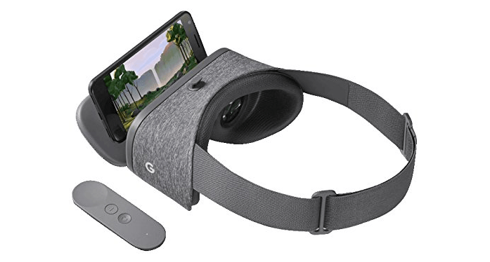 Google Daydream View (2017) - virtual reality for mobile