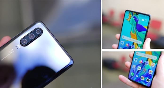 Design - Huawei P30 vs Samsung Galaxy S10