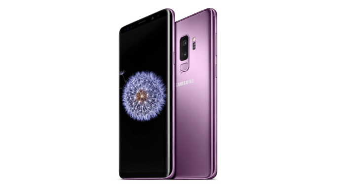 the Samsung Galaxy S9 Plus