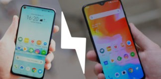 Honor View 20 vs OnePlus 6T