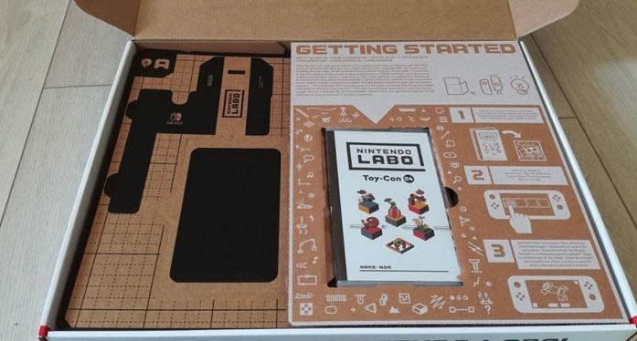 Unboxing of the Nintendo Labo VR Kit
