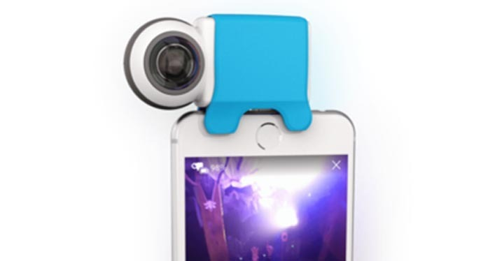 Giroptic iO, the 360 camera for Android and iOS
