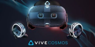 HTC Vive Cosmos test
