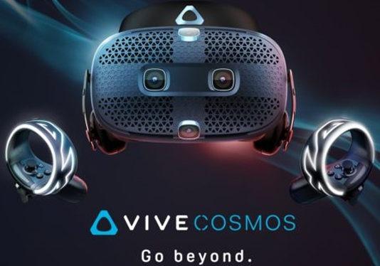 HTC Vive Cosmos test