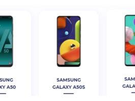 Samsung Galaxy A50 and Galaxy 51