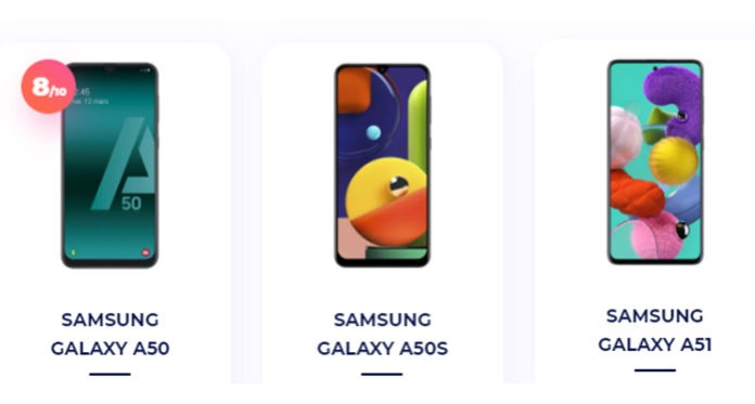 Samsung Galaxy A50 and Galaxy 51